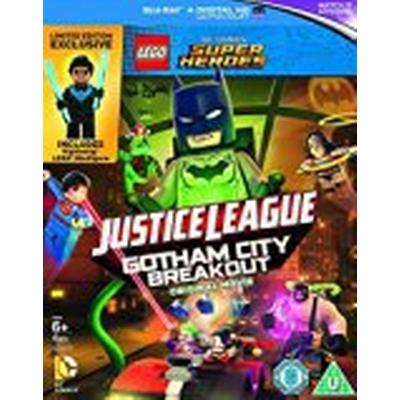 LEGO DC Justice League: Gotham City Breakout (includes Nightwing Minifigure) [Blu-ray] [2016] [Region Free]